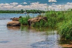 自然的一个美好的风景 库存照片