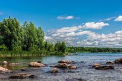 自然的一个美好的风景 免版税库存照片