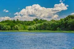 自然的一个美好的风景 免版税图库摄影