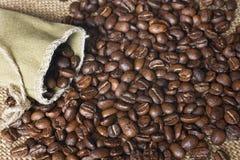自然的咖啡 免版税库存图片