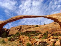 自然的拱道 图库摄影