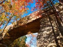 自然的桥梁 免版税库存照片