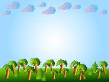 自然的背景 免版税库存图片