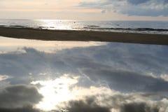 自然的镜子 免版税库存照片