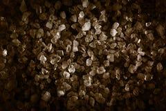 自然的水晶 矿物和化石 免版税图库摄影