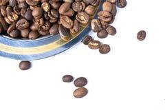 自然的coffe 免版税库存照片
