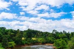 自然看法和天空 免版税库存照片