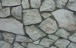 自然石墙在普拉托意大利 库存图片