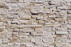 自然石墙背景和纹理 免版税库存图片
