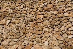 自然石墙 免版税库存图片