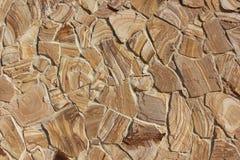 自然石头纹理墙壁  免版税库存图片