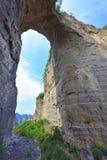 自然石孔 免版税库存图片
