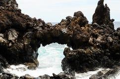 自然石曲拱 库存照片