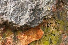 自然石纹理 免版税图库摄影