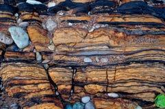 自然石结构 免版税库存照片