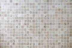 自然石马赛克正方形墙壁瓦片 免版税图库摄影