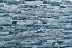 自然石头层的墙板模仿 免版税图库摄影
