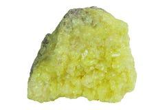 自然硫 库存照片