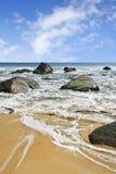 自然秀丽在海南岛,中国的 免版税库存图片