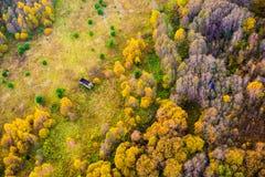 自然秀丽在立陶宛 免版税库存照片