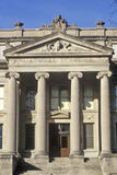 自然科学大厦,衣阿华市,衣阿华前面在爱荷华大学的 库存图片