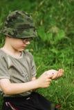自然科学家年轻人 库存照片