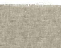 自然简单的粗糙的亚麻制织品-帆布 免版税库存图片