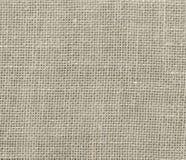 自然简单的粗糙的亚麻制织品-帆布 免版税图库摄影