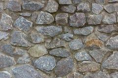 自然粗砺的石头 库存图片