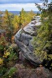 自然纪念碑桑给巴尔石头城 免版税库存照片