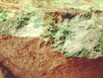 自然绿沸铜岩石矿物纹理 图库摄影