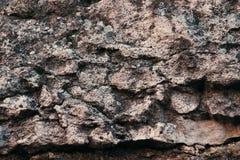 自然老石背景 免版税库存照片