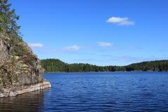 自然芬兰 免版税库存图片