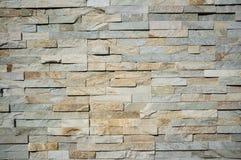 自然花岗岩石瓦片墙壁纹理 免版税库存照片