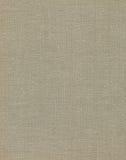 自然葡萄酒亚麻制粗麻布构造了织品纹理,详细的老在棕褐色,米黄,淡黄色灰色垂直的难看的东西土气背景 免版税库存图片