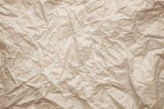 自然被回收的纸纹理 老报纸纹理白纸 免版税图库摄影