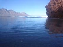 自然重力水池海滩 免版税库存照片