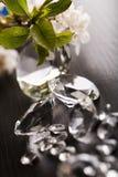 自然金刚石的珠宝 库存照片