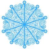 自然雪样式 免版税库存照片