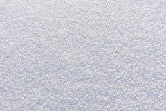 自然雪背景在冬天 免版税库存照片