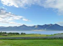 自然风景在冰岛 库存图片