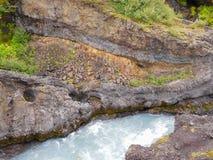 自然风景在冰岛 库存照片