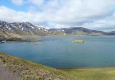 自然风景在冰岛 免版税库存照片