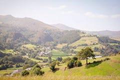 自然风景在阿斯图里亚斯,西班牙 免版税库存图片