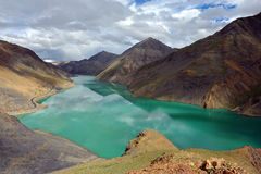自然风景西藏 库存照片