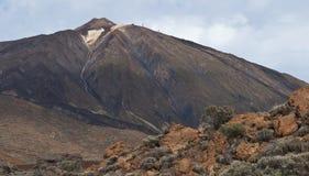 Teide火山,特内里费岛,加那利群岛,西班牙 免版税库存照片