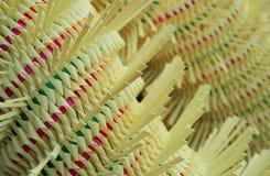 自然,五颜六色的装饰关闭 免版税库存图片