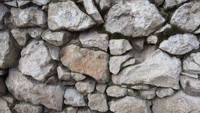 自然,大 墙壁的灰色石头 库存图片