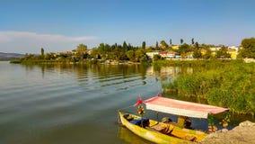 自然,风景,湖边 免版税库存照片