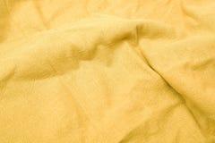 自然织品的亚麻布 免版税库存图片